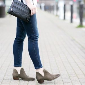 Steve Madden Austin booties with cutouts